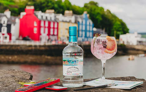 Whiskey-Infused Scottish Gins