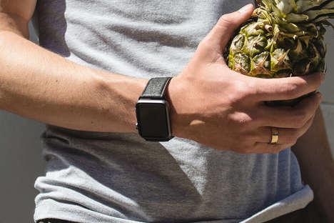 Pineapple Leaf Smartwatch Straps