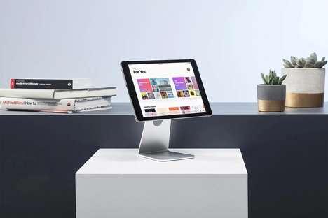 Tablet-Transforming Desktop Mounts