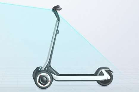 Self-Driving Shareable Scooters