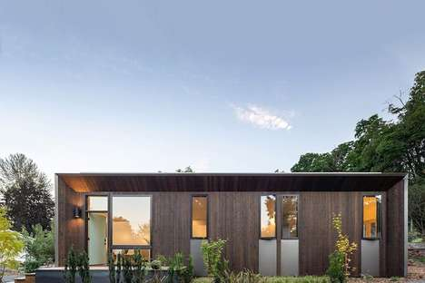 Urban Prefab Cottage Dwellings