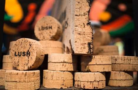 Carbon-Positive Cork Packaging