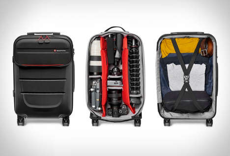 Traveling Photographer Suitcases