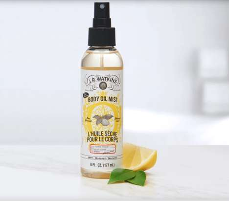 Natural Cruelty-Free Oil Mists
