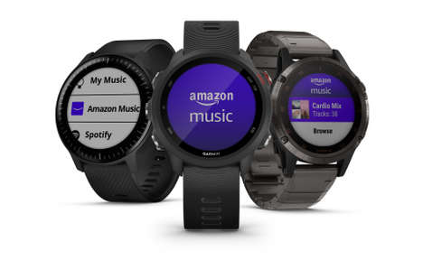 Smartwatch Music Streaming