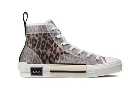 Animal-Printed Luxe Footwear