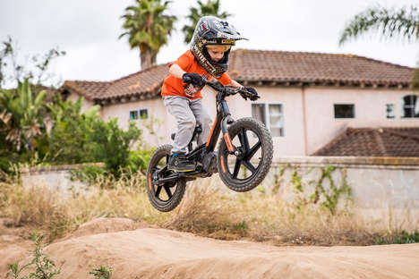 Electric Pedal-Free Child Bikes