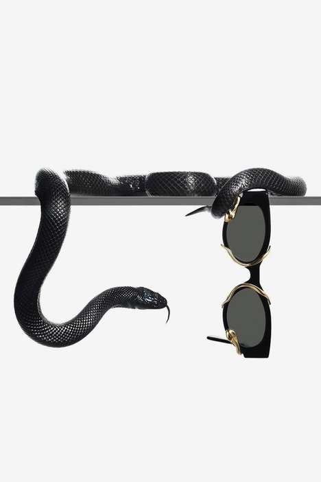 Snake-Wrapped Sunglasses
