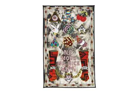 Punk Art-Informed Quilts