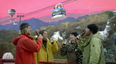 Gamified Ski Beer Campaigns