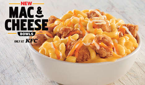 Fried Chicken Macaroni Bowls