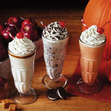 Festive Fall Milkshakes