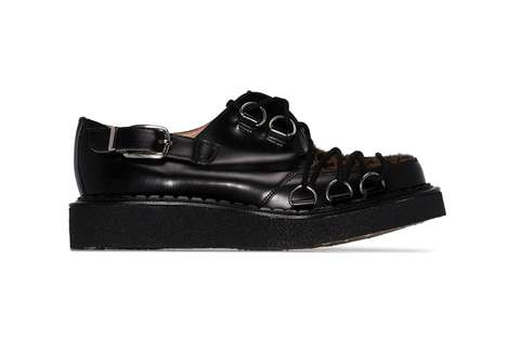 Leopard Laced Bulky Creepers