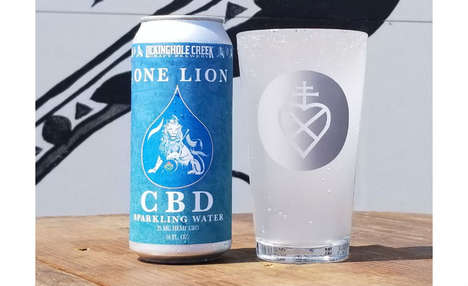 Sparkling CBD-Infused Waters