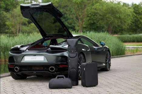 Luxurious Car-Specific Suitcase Sets