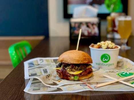 Vegan Haggis Burgers