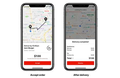 Food Delivery Tipping Systems