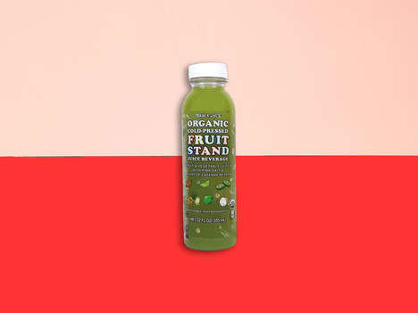 Nutritious Cold-Pressed Juices