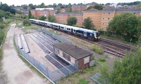 Solar-Powered Train Systems