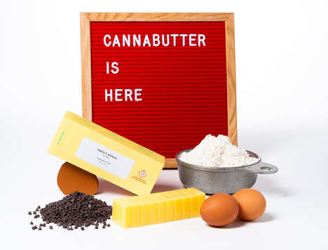 Cannabis-Infused Butter Sticks