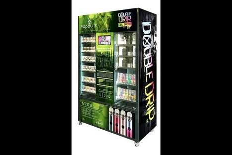 Informative Vaping Retail Displays