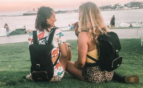 Discreet Drink-Chilling Backpacks