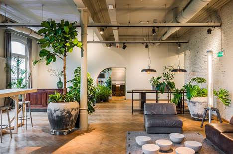 Lively Modern Amsterdam Studios