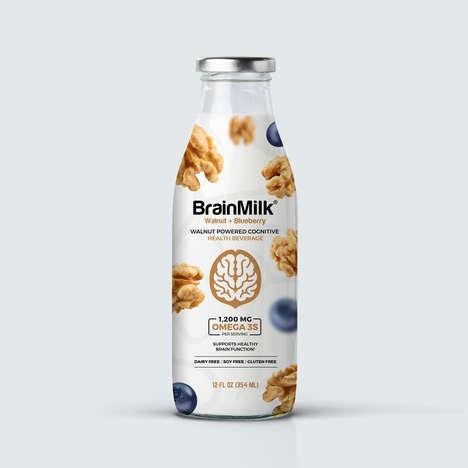 Cognition-Boosting Nut Milks