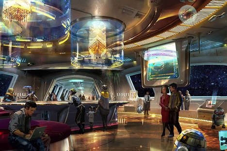 Science Fiction-Themed Hotels