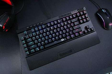 Discreet Desktop Gaming Keyboards