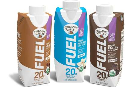 Reduced-Sugar Protein Milkshakes