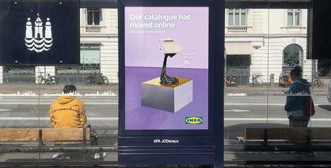Cut-Out Furniture Ads