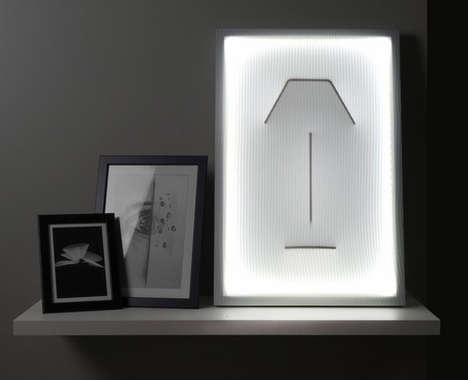 Sculptural Fabric Outline Illuminators