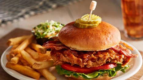 Fried Chicken BLT Sandwiches