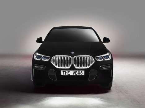 Ultra-Black Luxury Cars