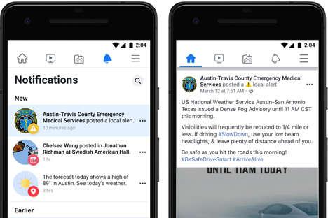 Social Media Alert Systems