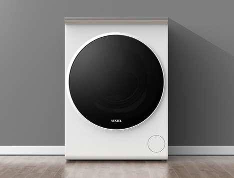 Swiveling Display Washing Machines