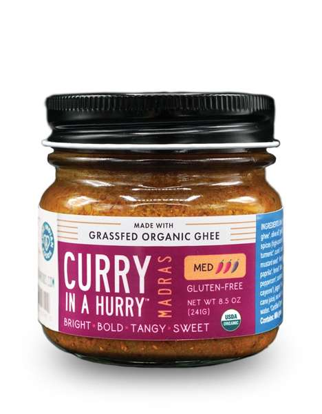 Ghee-Based Curry Sauces