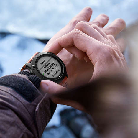 Solar-Powered Smartwatches