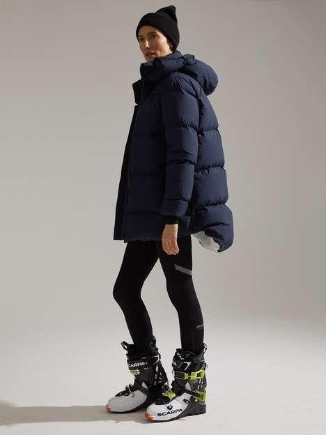 Fashion-Forward Female Ski Collections