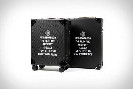 Collaboration Streetwear Suitcases