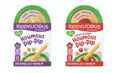 Prepackaged Toddler Hummus Snacks