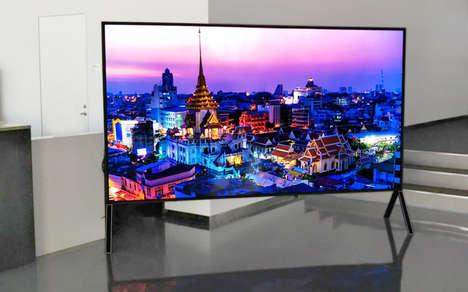 Large High Resolution TVs