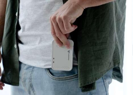 Portable Palm-Sized Projectors