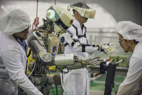 Space Robot Test Flights