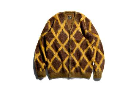 Heavily Patterned Mohair Cardigans