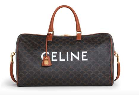 Leather Monogrammed Bag Collections