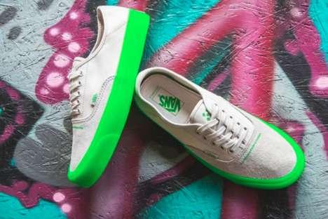Vividly Colored Shoe Soles