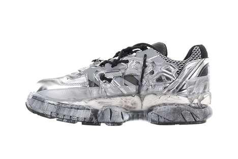 Metallic Luxe Sneaker Updates