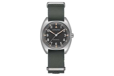 70s-Inspired Militaristic Watches